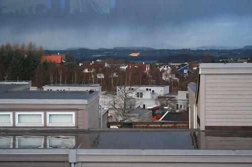 utsikt fra vindu