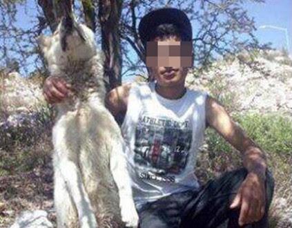 La foto que publicó en Facebook Jorge Luis Álvarez Salas,  de Saltillo, Coahuila. Foto: Especial.
