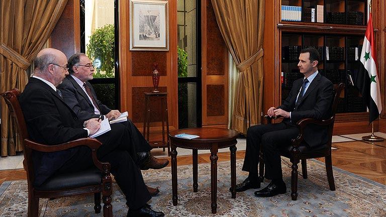 Bachar al Asad confirma en una entrevista que no va a dejar el cargo