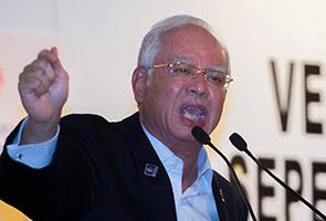 Dakwaan 1MDB rugi RM42 bilion diputar belit, kata Najib