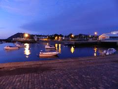 Sunrise in Bray harbour
