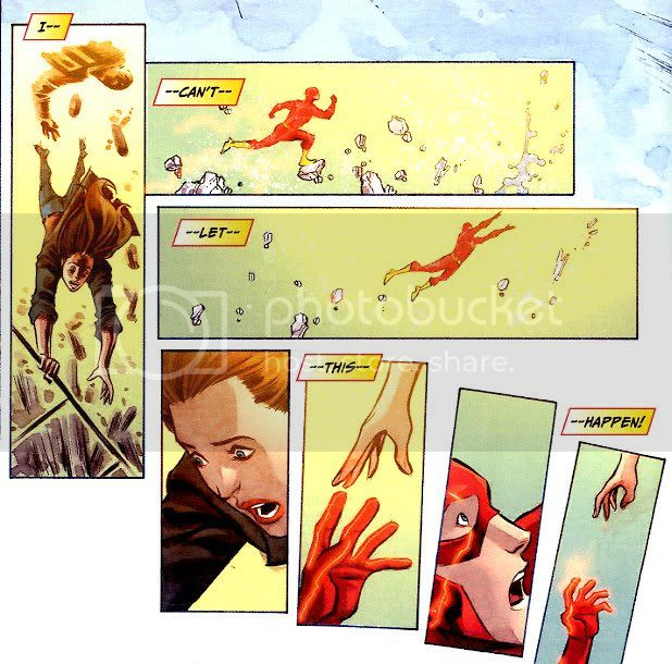 from Flash #7, by Francis Manapul and Brian Buccellato