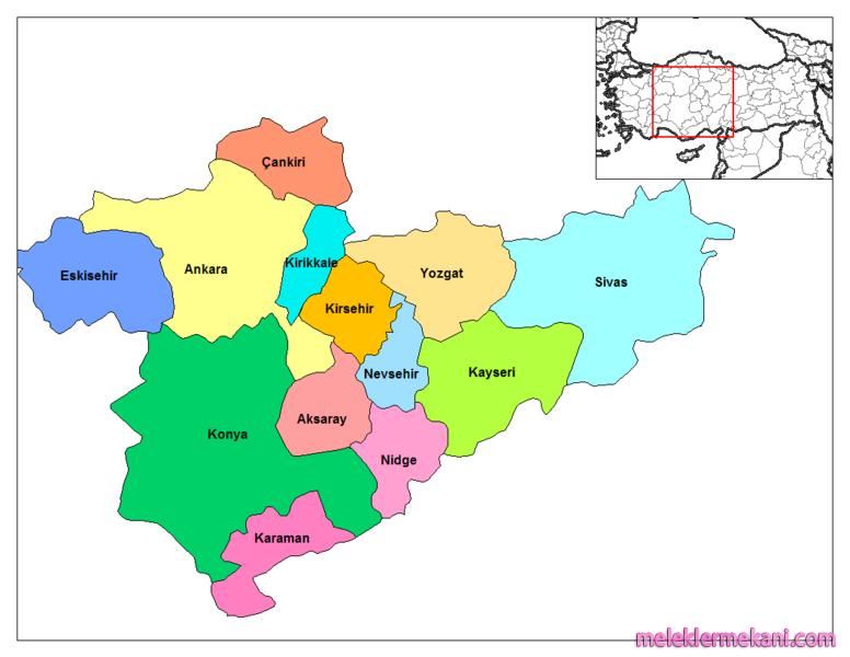 Türkiyenin Yedi Bölgesi Türkiyenin Bölgeleri