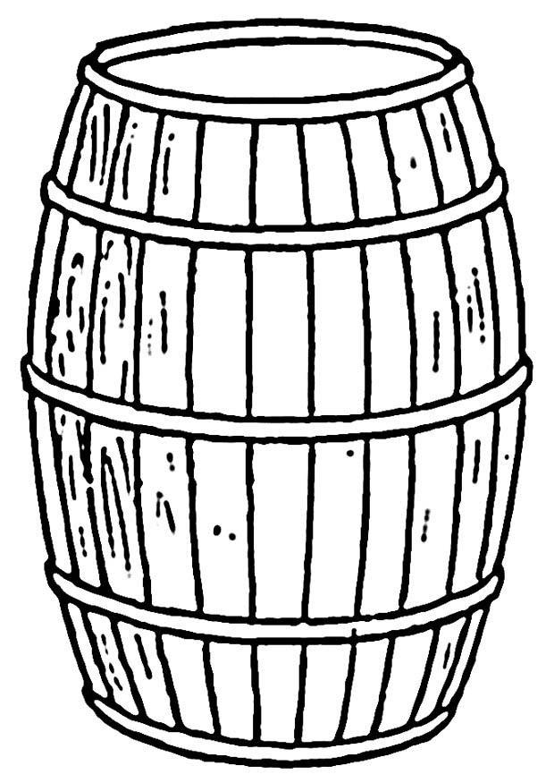 Coloriage tonneau - img 18819