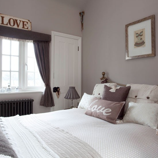 Farrow and Ball Elephant's Breath bedroom paint