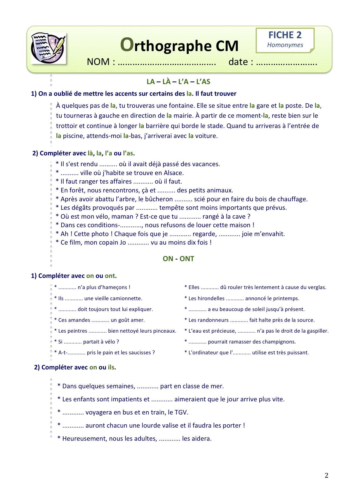 Homonimy - ćwiczenie 3 - Francuski przy kawie