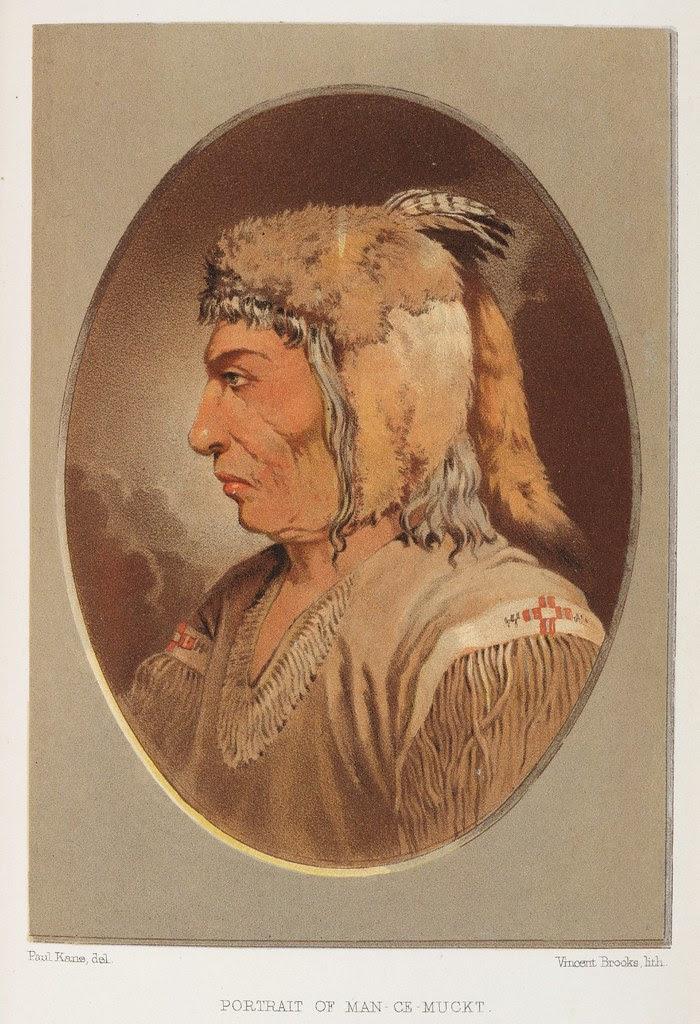 Portrait of Man-Ce-Muckt a