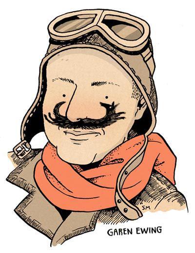 Garen Ewing plus mustache