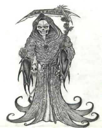 Grim Reaper Tattoo Free Grim Design Tattooshuntercom