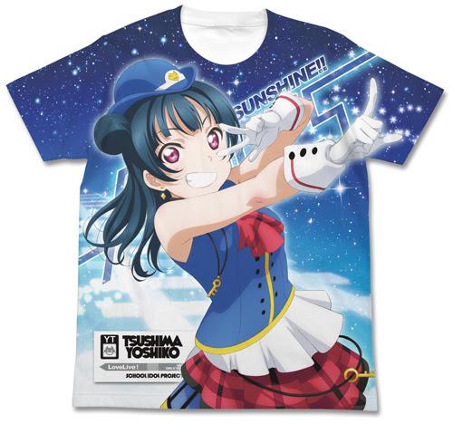 津島善子フルグラフィックtシャツ Happy Party Train Ver ラブライブ