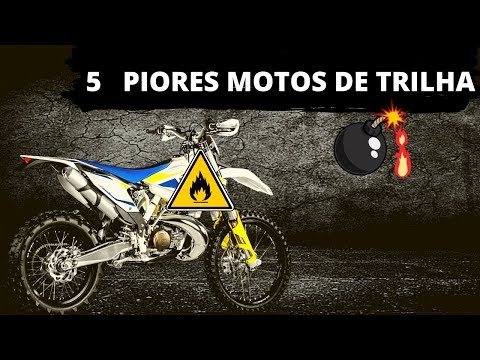 """5 piores motos de trilha """"CORRE QUE É DESGRAÇA"""". A galera escolheu..."""