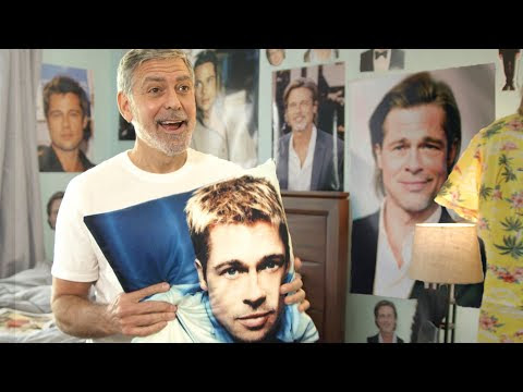What's It Like to Share a House with George Clooney? There will be a lot of Brad Pitt, and the rent will be paid in autographs.