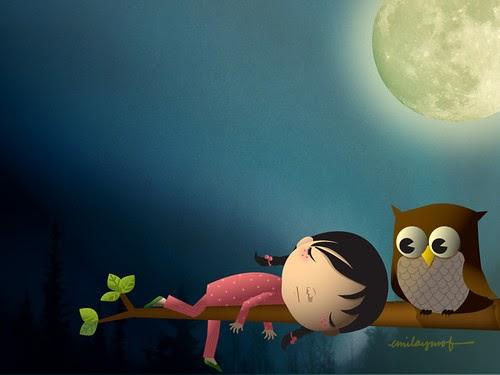 My Owl Barn Desktop Wallpaper
