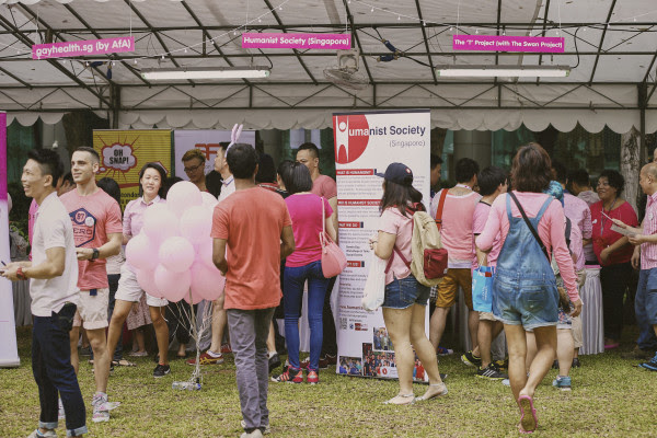 pink dot 2015 booth