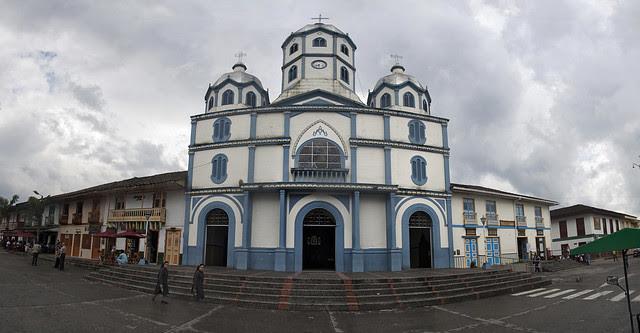 Panoramica Iglesia Filandia Quindio