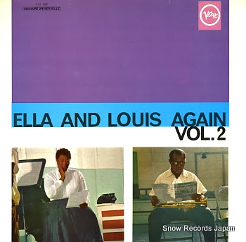 FITZGERALD, ELLA & LOUIS ARMSTRONG ella and louis again vol2