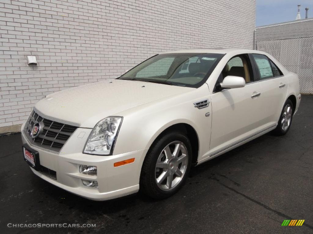 2011 Cadillac STS 4 V6 AWD in White Diamond Tricoat ...