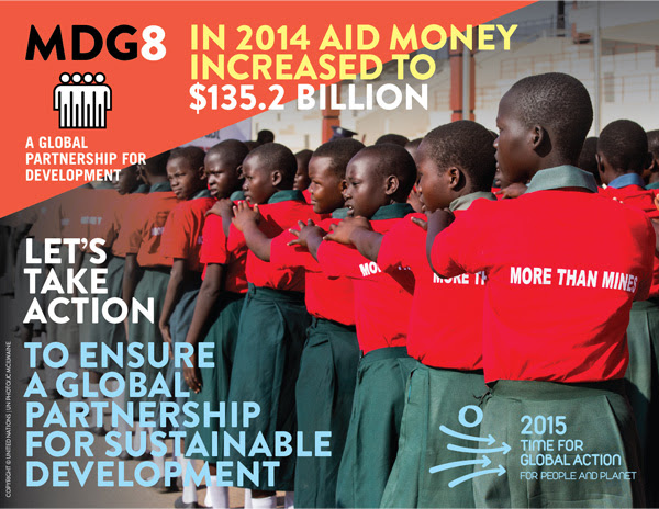 MDG 8 Infographic