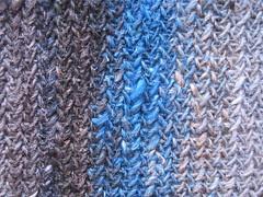 My So-called Scarf Stitch Detail