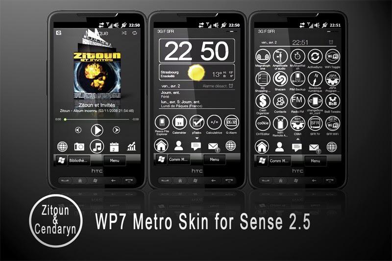 HTC Sense GO Theme