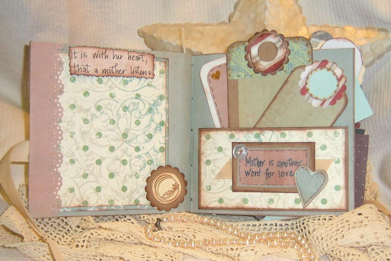 Mom Album Premade Paper Bag Mother