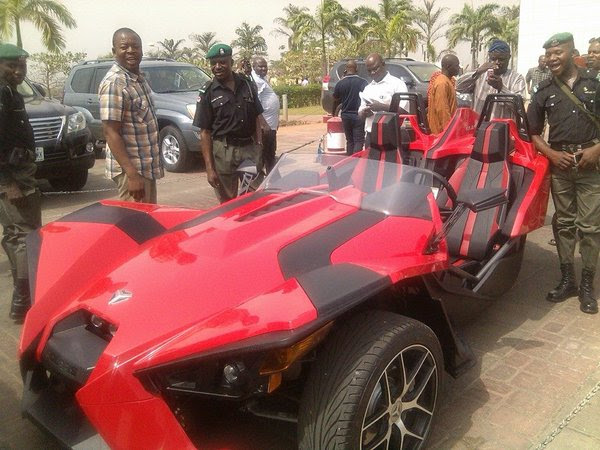 Dino Melaye Flaunts Sports Cars Worth Millions In Abuja (Photos, Video)