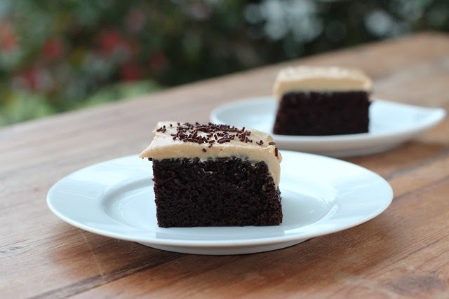 Chocolate Cake with Biscoff Frosting