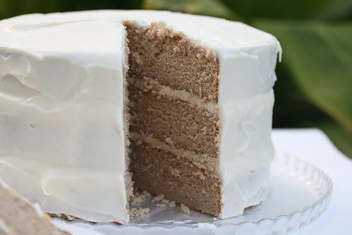 Chai Cake with Honey-Ginger Cream (Sky High Cakes)