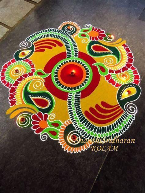 #kolam   aripan   Rangoli designs, Rangoli patterns