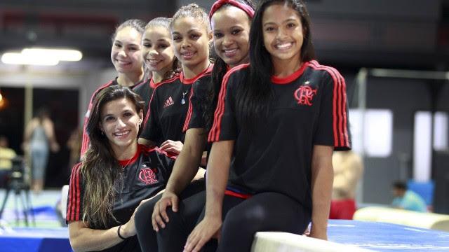 As ginastas do Flamengo