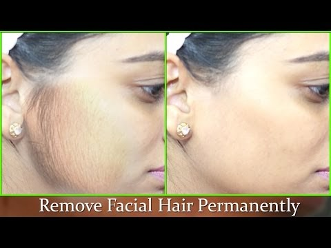 Remove Facial Hair Permanently - 100% Natural effective Instant Remedy