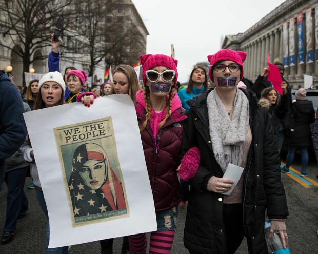 Proteste trump - 1