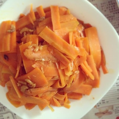 Vit A! #food #sgfood #dinner #carrot #homemade  (Taken with Instagram)