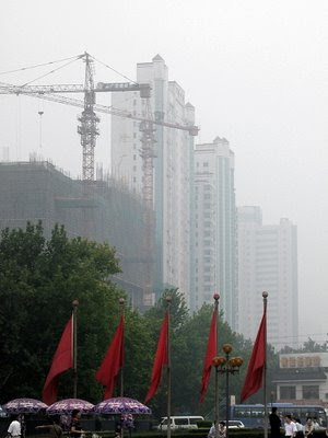 [photo of polluted China]