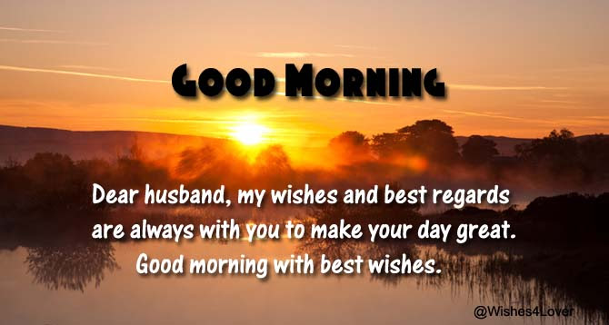 Good Morning Messages For Husband Wishes4lover
