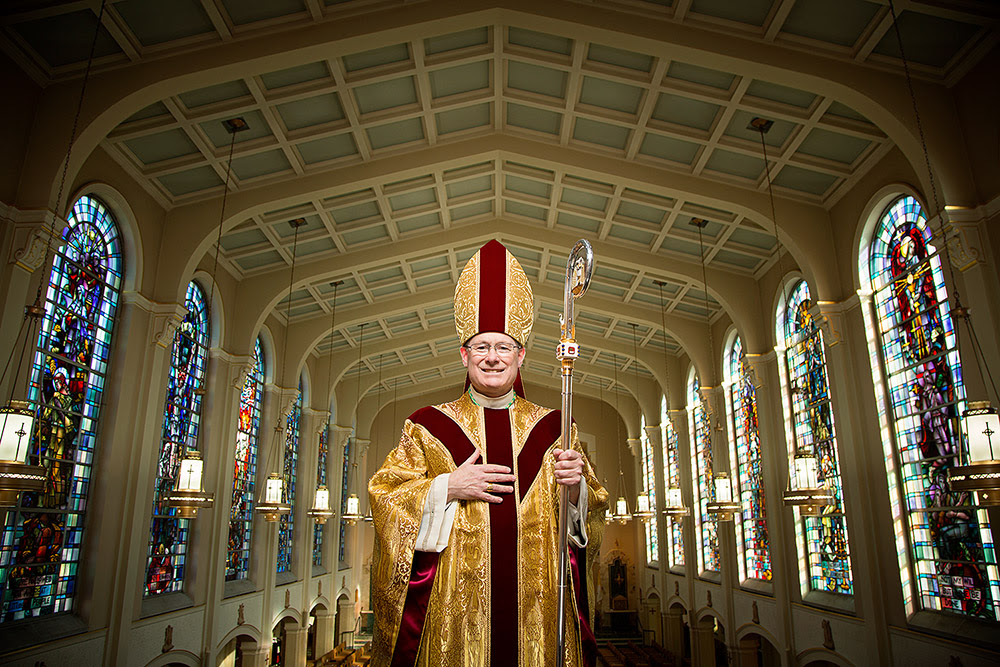 Image result for Most Rev. David J. Malloy
