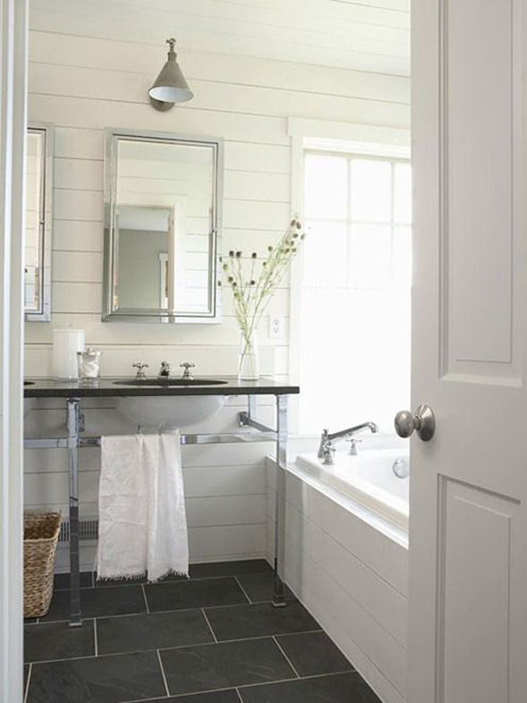 The White Plank Wall Trend | Through the Front Door