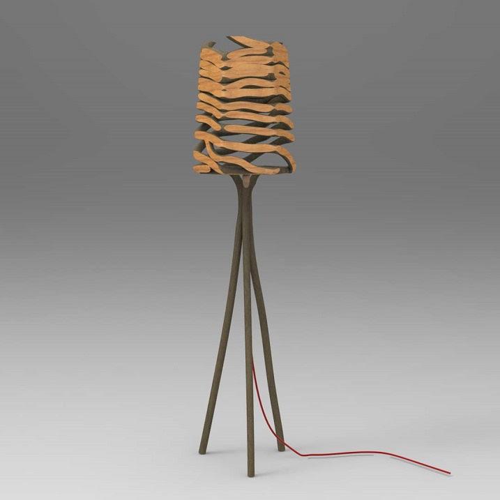 Выращенная мебель от Гэвина Манро. Фото