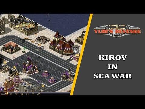 Red Alert 2 - 2 vs 6 Sea War by Kirov