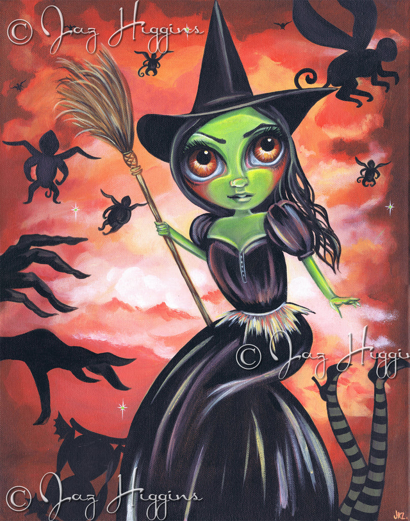 """The Wicked Witch of the West"" Original Painting"