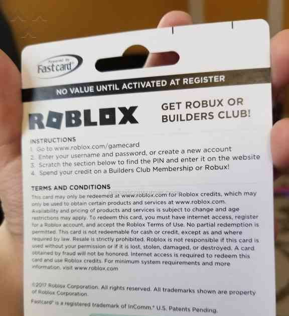 Roblox Gift Card Numbers Scratched Off Free Robux July 2019