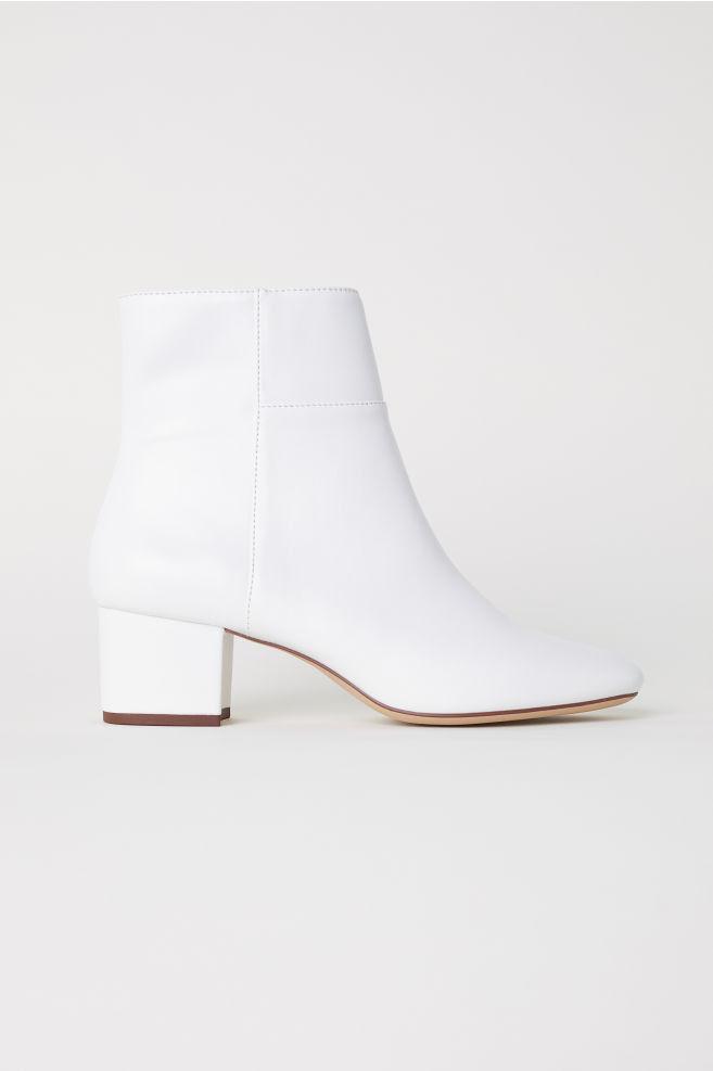 Botki - Biały - ONA | H&M PL 1