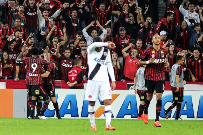 Atlético-PR x Vasco Arena da Baixada (Foto: Joka Madruga/Agência Estado)
