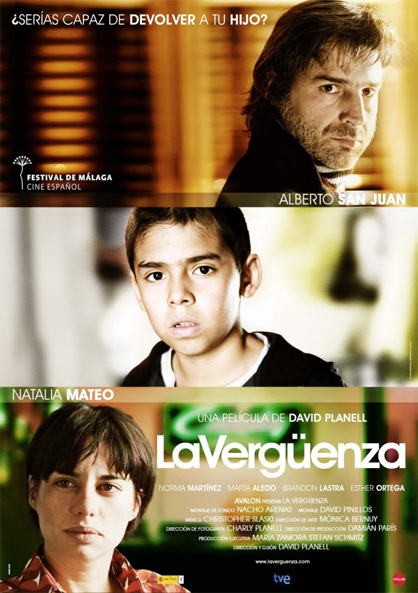La vergüenza (David Planell, 2.009)