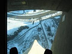 Ze glass floor
