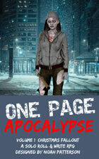 One Page Apocalypse: Volume 1: Christmas Fallout