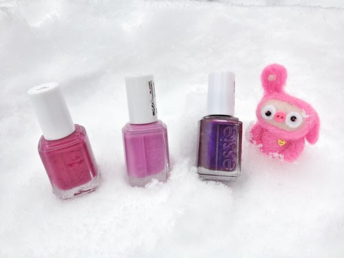essie x 3 and pip