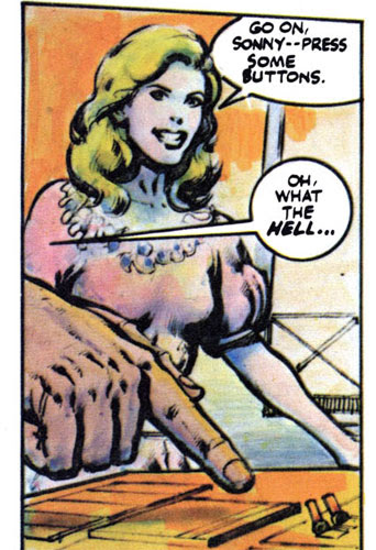 Comic Book Olivia Newton-John