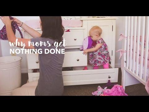 ¿Porqué las madres nunca terminan de hacer nada? Un video tan real como divertido