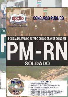 Apostila PM-RN Soldado PM do QPPM da Polícia Militar do RN - Rio Grande do Norte (PM RN), Conteúdo Impresso, grátis curso de Dicas de Português.